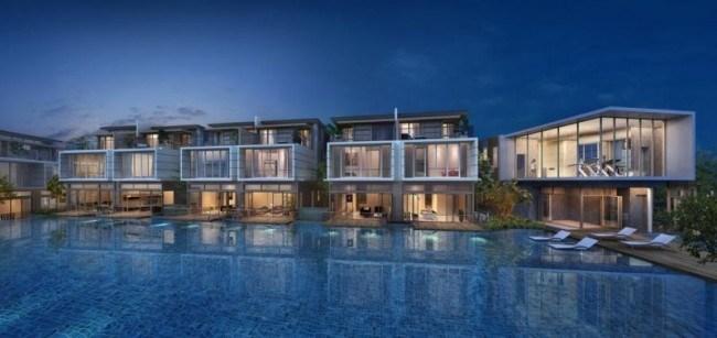 Whitley Residences facilites deck